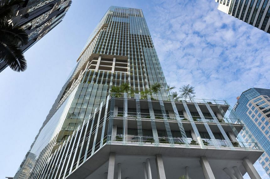 CapitaLand Limited is proposing to divest its half-share in MSO Trust, a special purpose sub-trust which holds office tower CapitaGreen (pictured).