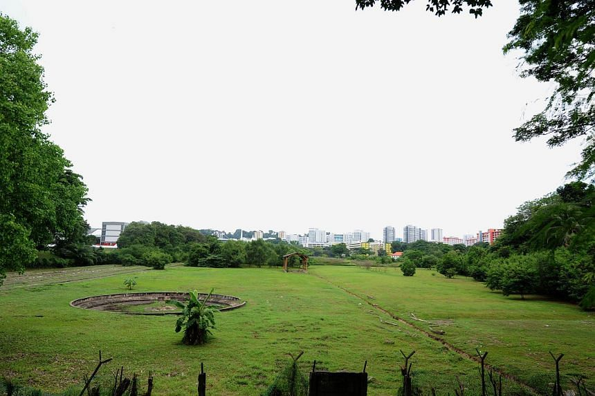 Once owned by Malayan Railways, the plot of state land next to Blair Road and overgrown with shrubs will be cleared for the building of a carpark and bus interchange.
