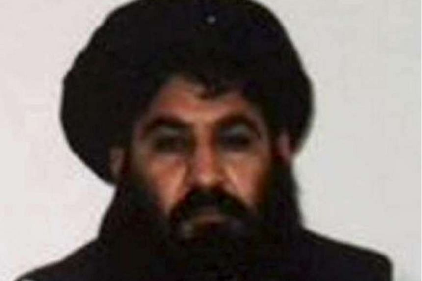 Mullah Akhtar Mohammad Mansour, Taleban militants' new leader, is seen in this undated handout photograph.