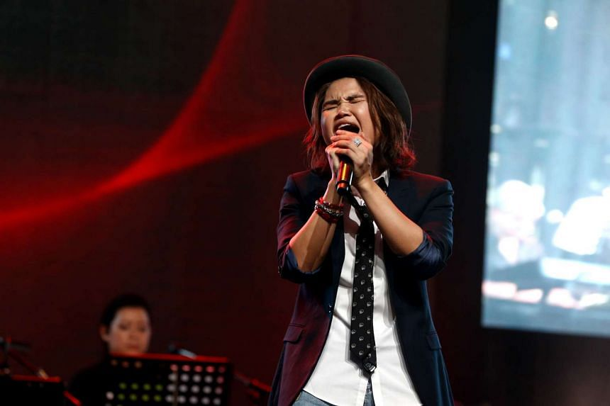 Olinda Cho, 35, one of the three winners from Singapore who will head to China to competed in China Super Vocal.