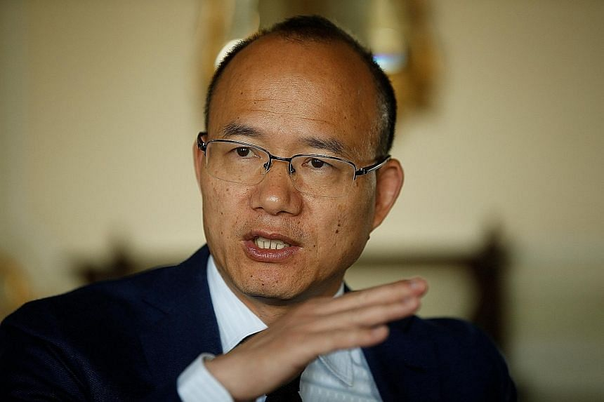 Fosun's US$400 million of 6.875 per cent bonds slumped by a record on the day after it was reported that chairman Guo Guangchang (above) had gone missing. The bonds have recovered to 104.5 cents on the dollar.