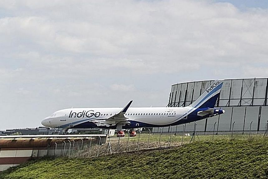 IndiGo said it grounded two pilots of a flight from Ahmedabad to Jaipur for attempting to land their plane on a road.