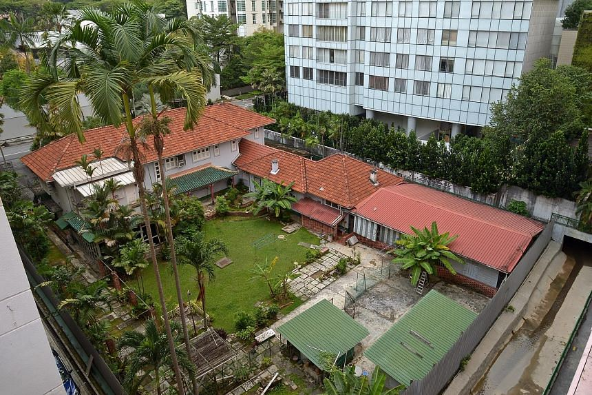 The Cuscaden Road house was the family home of the late businessman Tan Hoon Siang, who helmed several rubber companies in Malaysia and was a great-grandson of famed philanthropist Tan Tock Seng.