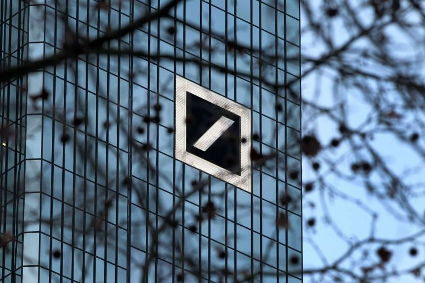 The headquarter of German company Deutsche Bank in Frankfurt, Germany, pictured on Jan 28, 2016.