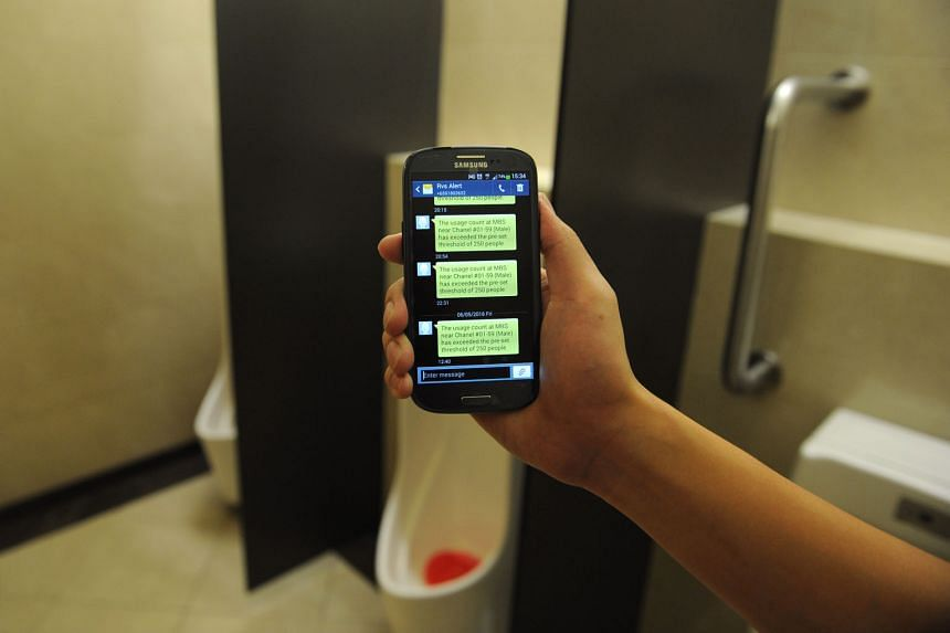 The Restroom Visitilizer System tracks how heavily toilets are used, and has a sensor to measure the odour levels of things like ammonia and hydrogen sulphide. The information is then sent to a portal that can be accessed through laptops and smartphones