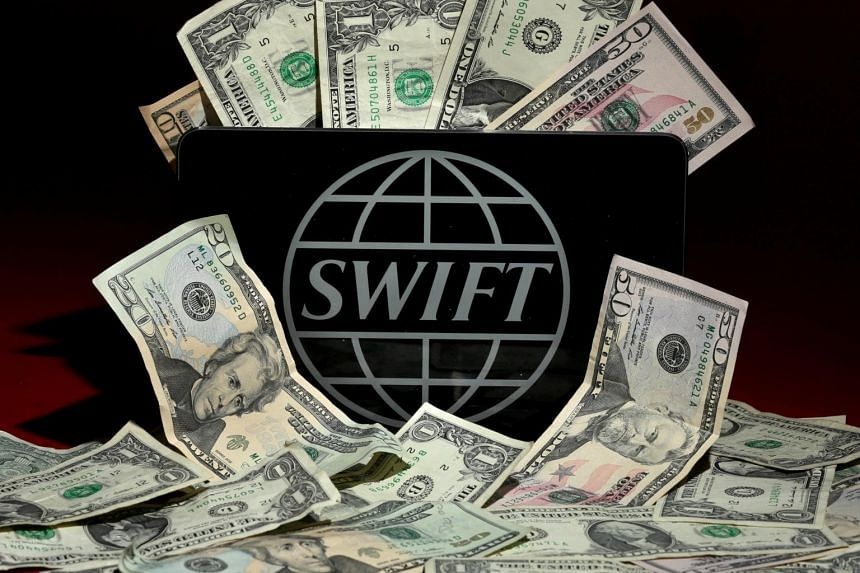 The Swift logo is pictured in this photo illustration.