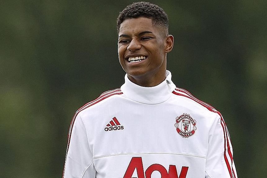 "Just three months after making his debut for Manchester United, Marcus Rashford is in line to earn his first England cap. According to head coach Roy Hodgson: ""The lad has enormous talent."""