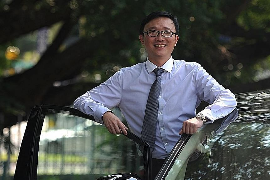 Mr Chia gave up his job as vice-president of a listed company in 2009 to enter the ground transport business, a sector he knew nothing about. But he does not regret his decision.