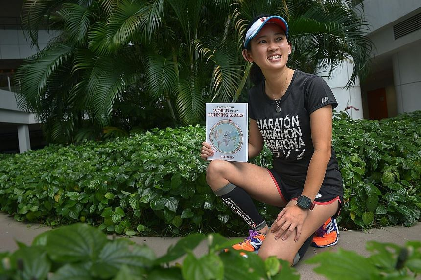 With 114 marathons under her belt, including more than 80 per cent overseas, adjunct lecturer Aileen Ho has seen much of the world. Her experiences led her to publish Around The World In My Running Shoes last year, where she shares tips on pre-race p
