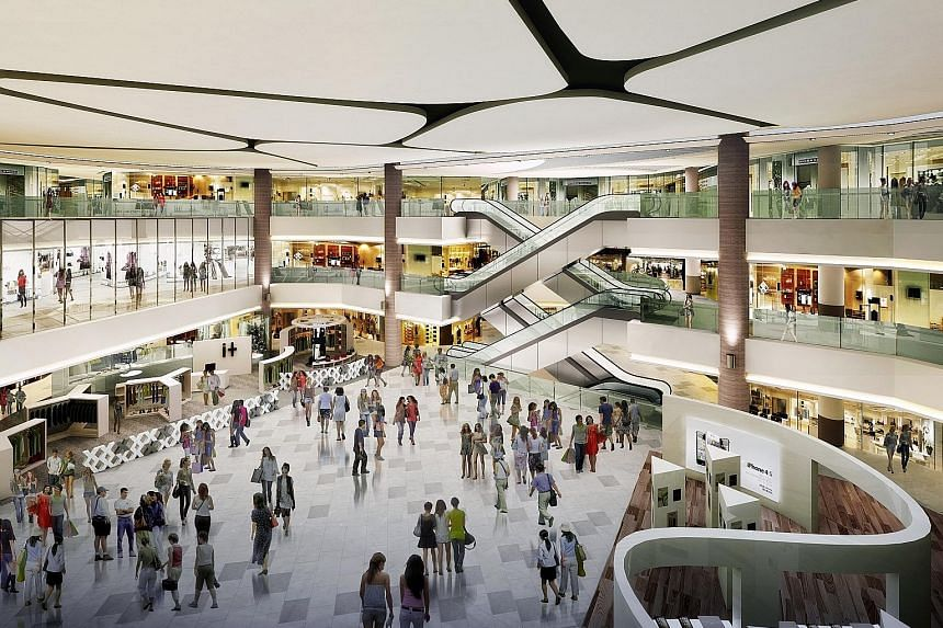 Compass One will have a larger public library, over 50 new retailers and a children's playground after the revamp. M&G Real Estate has also revealed that about 30 per cent of the space would be for food and beverage, up from 20 per cent previously.