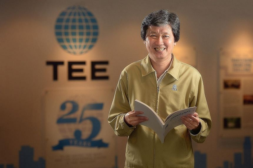 TEE began as an electrical contractor. It expanded to become an integrated solutions provider, and ventured into real estate development. Mr Phua wants the group to keep growing, and it now has stakes in a Thai wastewater treatment plant and in Power