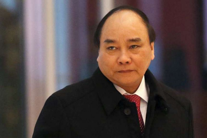 Vietnam Prime Minister Nguyen Xuan Phuc said Vietnam would seek only peaceful means to solve disputes.