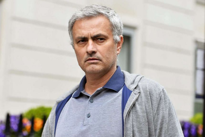 Jose Mourinho leaves his house in central London, May 22, 2016.