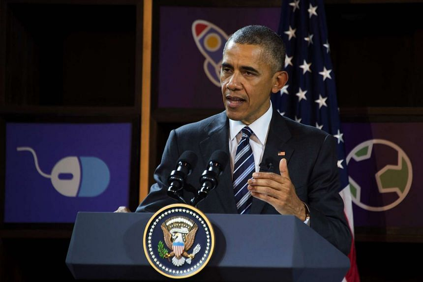 US President Barack Obama speaking in Ho Chi Minh City on May 24.