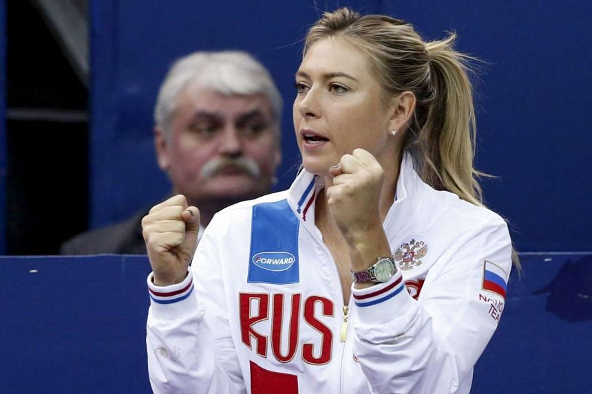 Maria Sharapova has been named to the Russian Olympic team, despite being suspended after she tested positive for the banned substance meldonium.