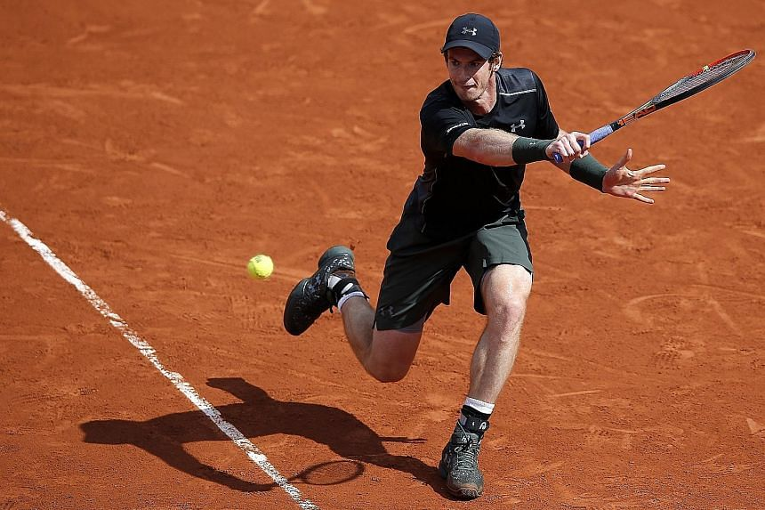World No. 2 Andy Murray has reached the French Open third round the hard way after playing the maximum 10 sets. He insists that his recent split with coach Amelie Mauresmo has nothing to do with his temper or angry outbursts towards his support team.