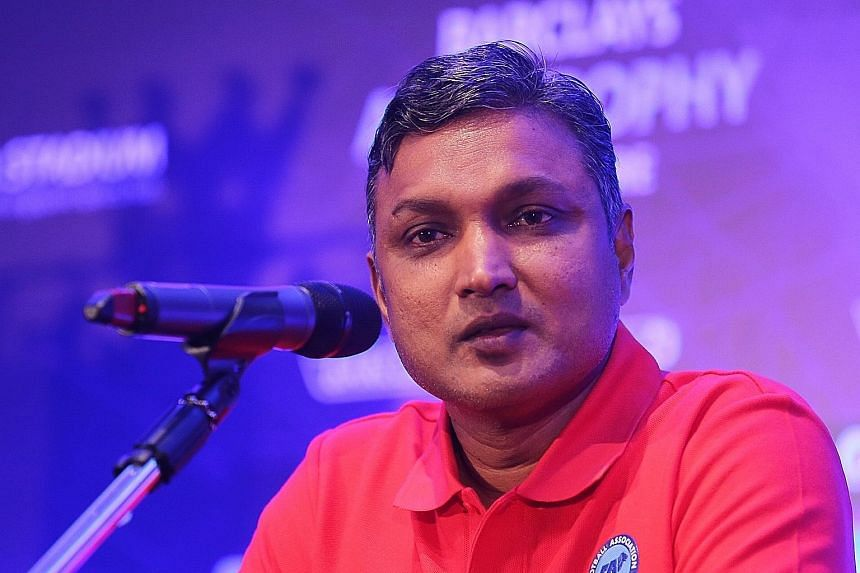 The Football Association of Singapore has given Sundram the target of reaching the semi-finals of the Asean Football Federation Suzuki Cup. The 50-year-old, however, declined comment on his imminent appointment as Lions coach.