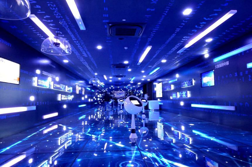 The Future comes to Guiyang : Big Data Centre showroom, designed to dazzle.