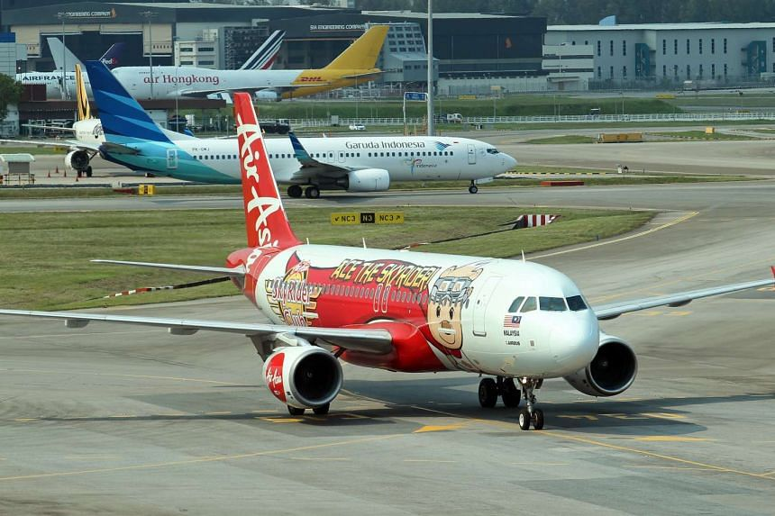 AirAsia has reported an almost sixfold jump in quarterly profit.