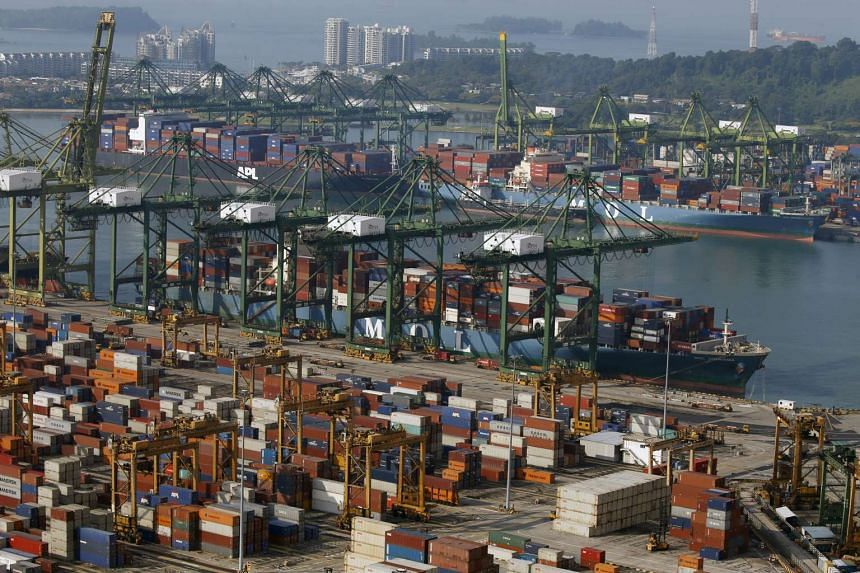 IE Singapore expects non-oil domestic exports to decline between 3 per cent and 5 per cent this year, from an earlier forecast of 0 to 2 per cent growth.
