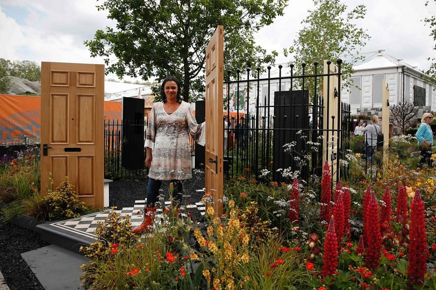 Designer Andy Sturgeon's depiction of a landscape moulded by myriad geological events won Best Show Garden at the Chelsea Flower Show, while Modern Slavery garden, by designer Juliet Sargeant (above), picked up a gold medal.