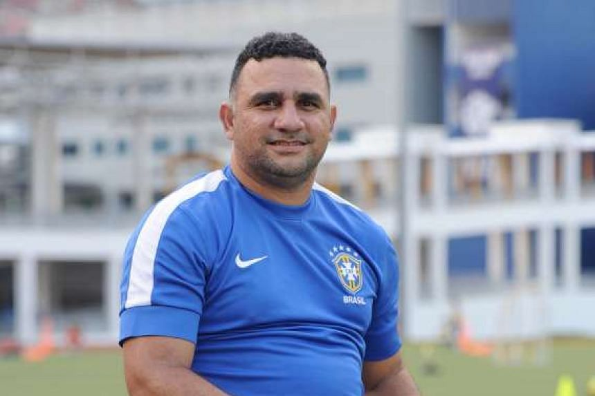 Fabio da Silva, 42, has coached football for 12 years at Meridian Junior College, winning eight A Division boys' titles.