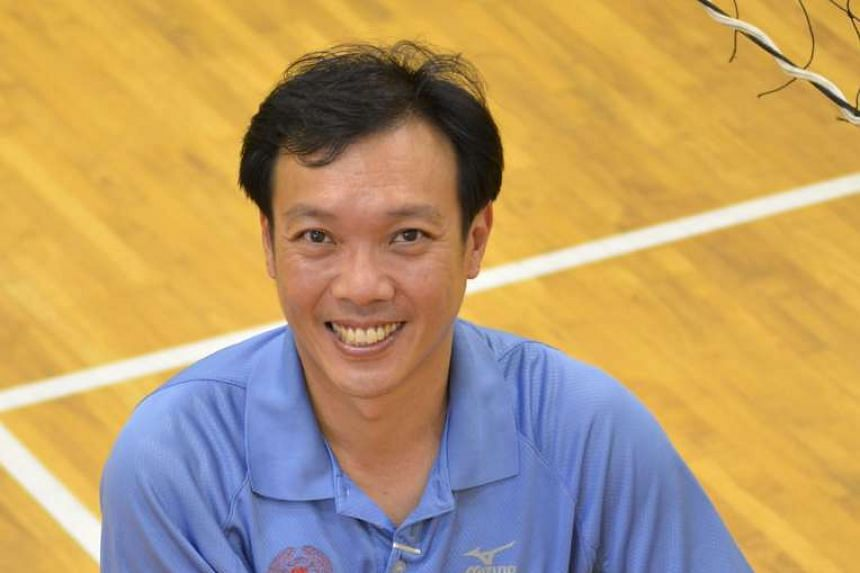 William Chua, 44, has coached for 21 years at Anderson Junior College. His boys' volleyball team won the A Division title in 2001, 2003 and 2006 and have a total of 16 top-four finishes under his tutelage.