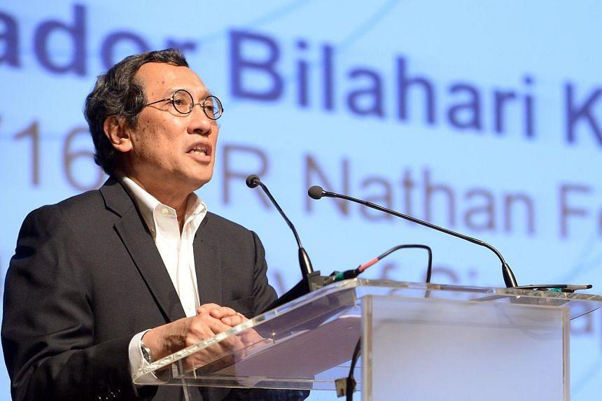 Ambassador-at-large Bilahari Kausikan.