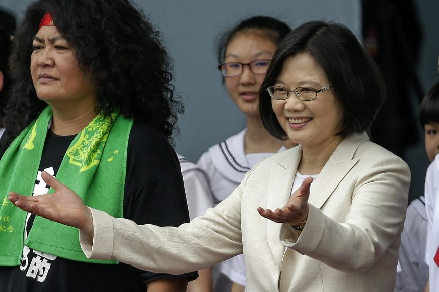 """Taiwan President Tsai Ing-wen, who was sworn in last Friday, acknowledged that young people """"still suffer from low wages"""" and pledged to do something about it."""