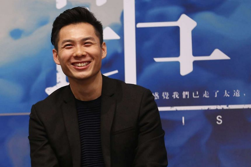 Singapore film-maker Anthony Chen at a press conference held at the ArtScience Museum on Dec 12, 2014.