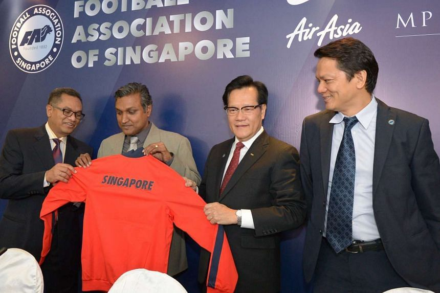 V. Sundramoorthy was appointed the caretaker national coach for the Football Association of Singapore (FAS) at a press conference on May 27, 2016.