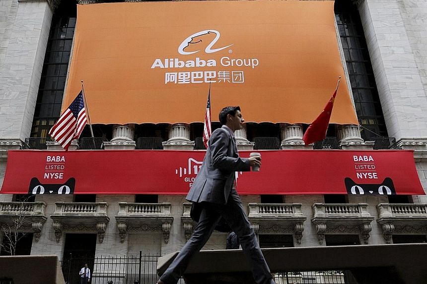 E-commerce giant Alibaba, which lists shares on the New York Stock Exchange, said the investigation by the Securities and Exchange Commission was not an indication it had violated any law.