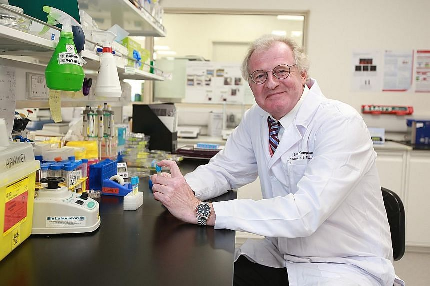The research on diabetes is led by NTU's Prof Boehm, who is also the scientific director of the Singapore Phenome Centre.