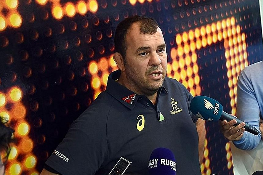 Wallabies coach Michael Cheika has picked a squad that can cope with England's physicality in their upcoming three-Test series.