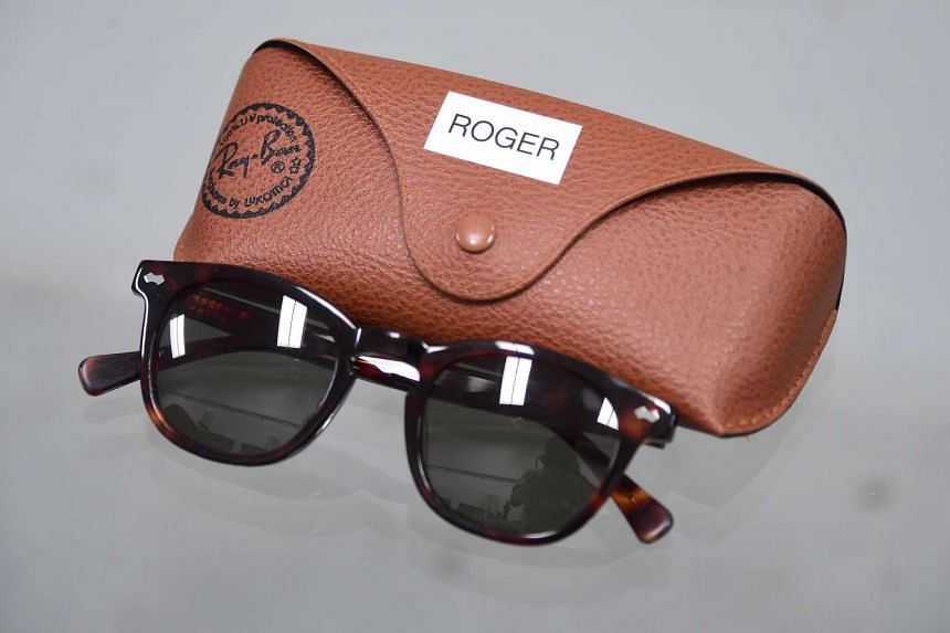 The Ray-Ban sunglasses worn by the character Roger Sterling.