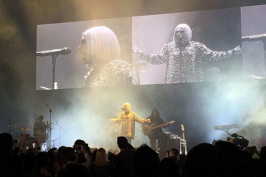 British singer Jessie J performed at the Singapore Indoor Stadium on Thursday (May 26) in front of a crowd of about 6,000 fans.