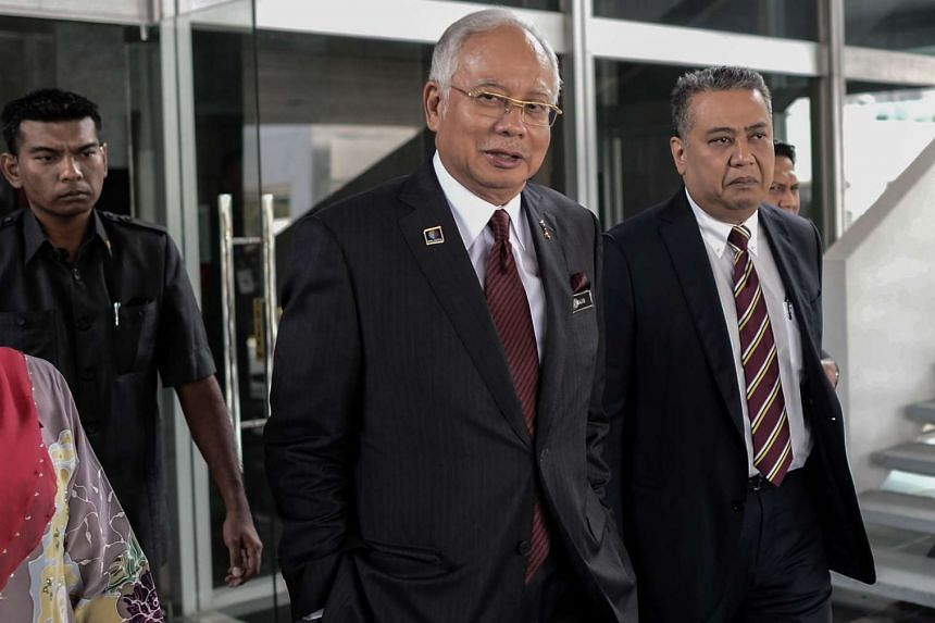 Malaysia's Prime Minister Najib Razak leaves his office at the parliament in Kuala Lumpur, on May 25, 2016.