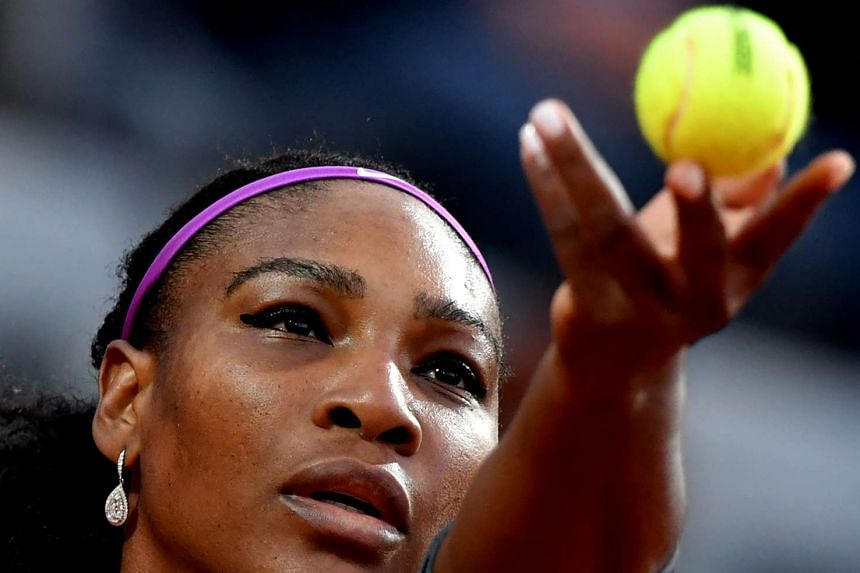 The routine victory keeps Williams (above) on course to win a 22nd Grand Slam title.