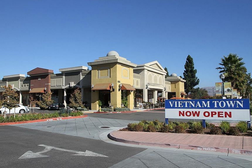 SingHaiyi Group's real estate portfolio in the United States generated revenue of $18.1 million, comprising the sale of several completed units in Vietnam Town in California (above) and rental income from Tri-County Mall in Ohio.