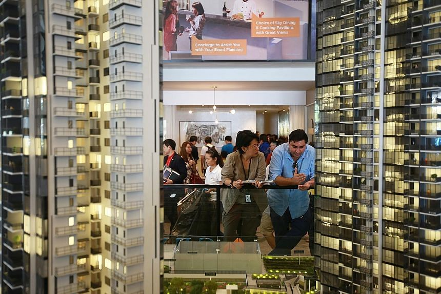 About 300 of the 578 units have been sold at an average of $1,426 per sq ft. About 47 per cent of units are priced below $1 million and 73 per cent of units are priced below $1.4 million.