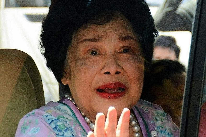 Queen Sirikit, who has seldom been seen in public in recent years, went for a health check on Wednesday.