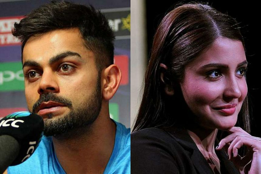 Trolls attacked cricketer Virat Kohli (left) and his on-and-off girlfriend Anushka Sharma. They blamed the actress for Kohli's poor performance.