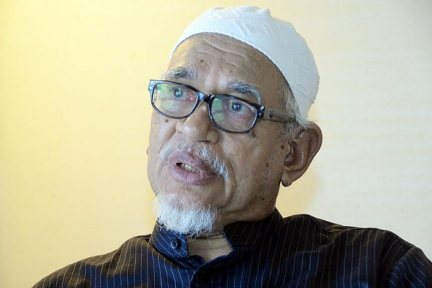 PAS chief Abdul Hadi Awang.