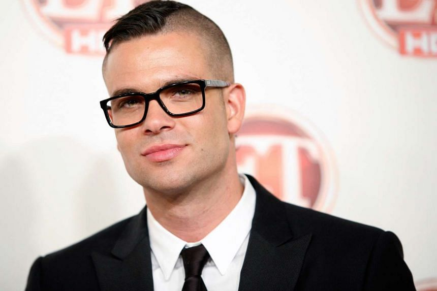 Actor Mark Salling, best known for his role in the musical comedy series Glee.