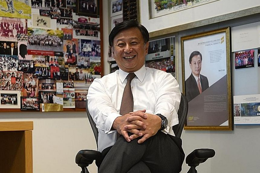 Insights from Mr Lim, which have been compiled into an illustrated book called Making Banking Joyful. Japan marked a turning point in the life of Mr Lim, now the country head of DBS here. It was where he met Mr Masamoto Yashiro, a famous corporate fi