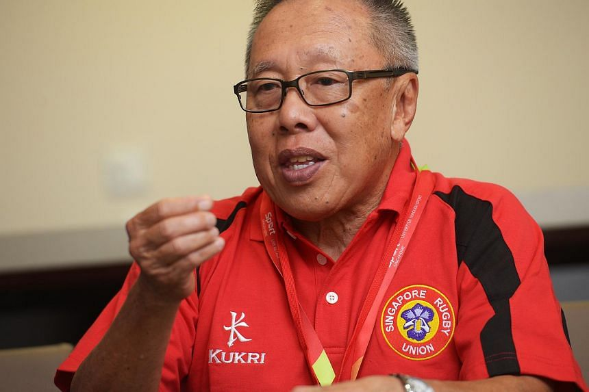 The Republic's chef de mission, Low Teo Ping.