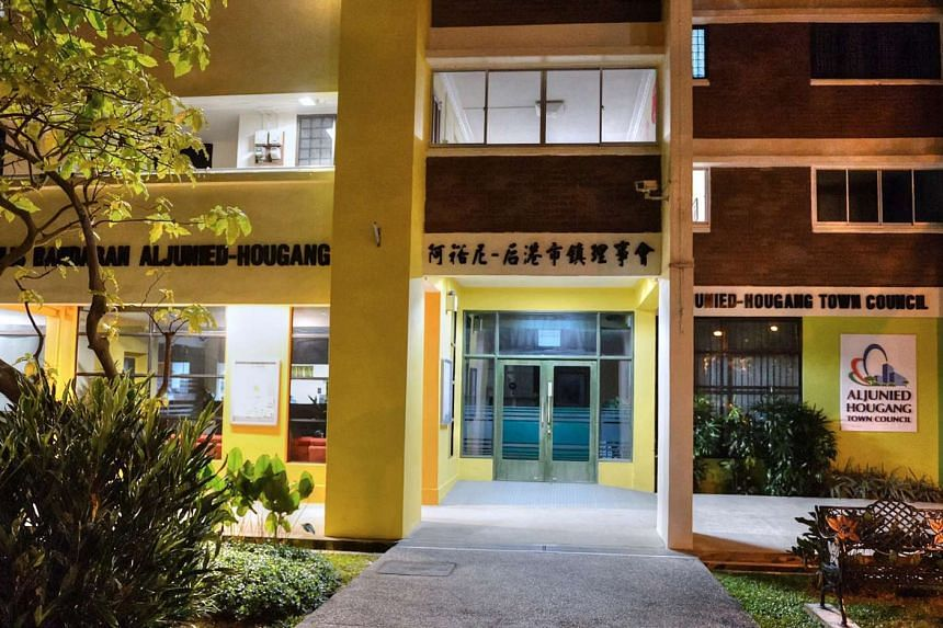 The Aljunied-Hougang Town Council at Hougang Avenue 2.