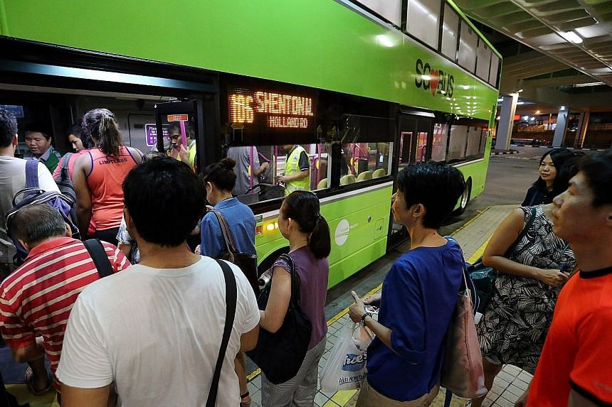 Tower Transit's first nine services - 77, 106, 173, 177, 189, 941, 945, 947 and 990 - operate out of Bukit Batok bus interchange. Next month, the Anglo-Australian firm will gradually take over 17 more routes from SBS Transit that are also in the west