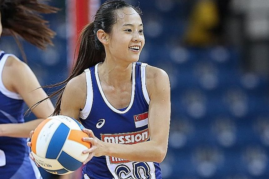 Skipper Micky Lin was a positive influence on the team and could get her team-mates to play with a smile.