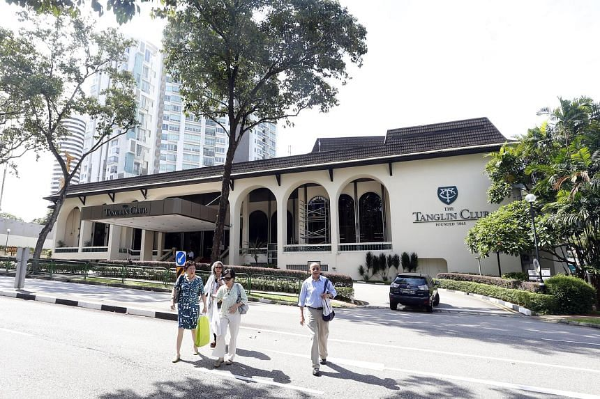 At the Tanglin Club's AGM today, a resolution being tabled is the addition of 11 more guest rooms. But two former club presidents want to maximise the potential of the land.